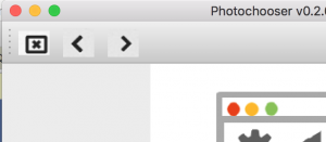 photochooser toolbar