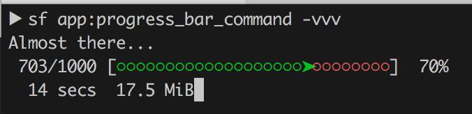 How to make cool progressbar in Symfony command? - Krzych